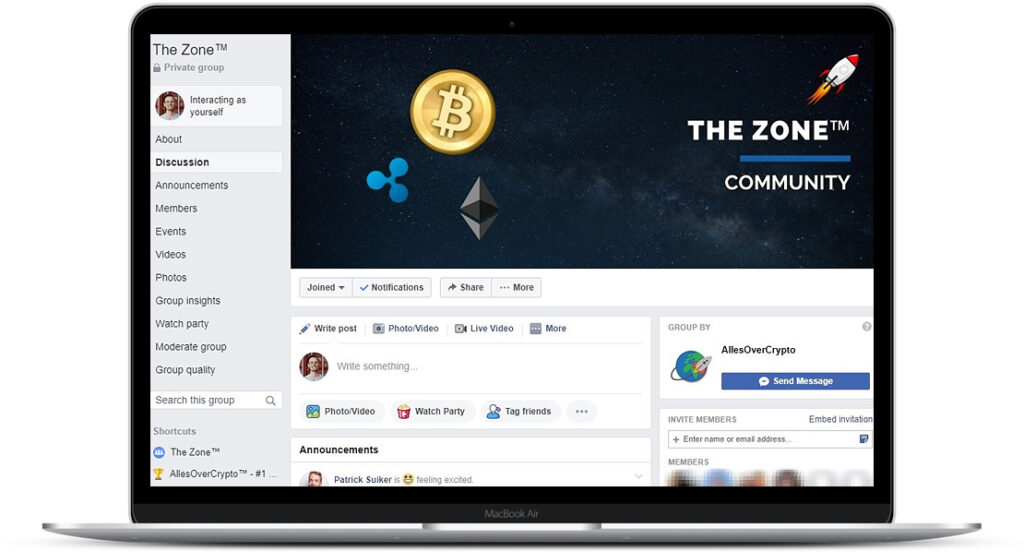 Crypto Masterclass - The Zone community
